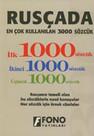Rusçada Ençok Kullanılan 3000 Sözcük