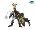 Papo Boğa Başlı Şövalye - Siyah / Altın P39917