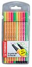 Stabilo Point 88 + Pen 68 Neon 10'lu Paket 8868/10-1