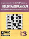 İngilizce Kare Bulmacalar - 3. Kitap