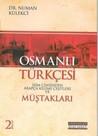 Osmanlı Türkçesi Müştakları 2. Kitap