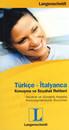 Türkçe - İtalyanca - Konuşma Ve Seyahat Rehberi