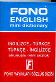 Mini Sözlük İngilizce-Türkçe/Türkçe-İngilizce