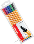 Stabilo Point 88 6 Renk Şeffaf Paket 88/6-77