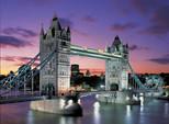 Educa Puzzle 1000 Parça 'Tower Bridge , London , Neon' '10113'