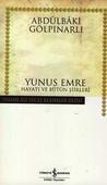Yunus Emre Hayatı ve Bütün Şiirleri - Hasan Ali Yücel Klasikleri