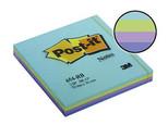Post-İt® Not, Okyanus, Mavi Tonları, 4 Renk X 25 Yaprak, 100 Yaprak, 76X76Mm'654-Rbm'