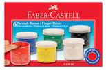 Faber-Castell Parmak Boyası 6 Renk - 5170160402