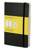 Moleskine Pocket Squared Soft Cover Notebook - Kareli Siyah Defter