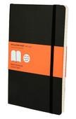 Moleskine Large Ruled Soft Cover Notebook - Çizgili Siyah Defter