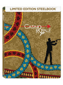 007 James Bond - Casino Royale Steelbook(2006)  (SERİ 21)