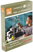 Bil Iq 8.Sınıf Fen ve Teknoloji Vcd Seti 15 VCD + Rehberlik Kitapçığı