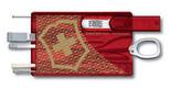 Victorinox Swiss Card Şeffaf Kırmızı 125. Yıl Koleksiyonu VT 0.7100.TJ09