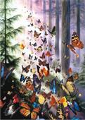Anatolian Puzzle Kelebek Ormanı / Butterfly Woods 1000 Parça 3069