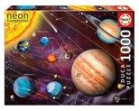 Educa Puzzle Solar System 14461 1000'lik (NEON)