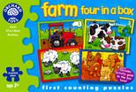 Orchard Çiftlik (4 Puzzle Birarada) 3 Yaş+ 209