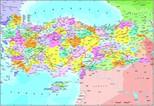 Anatolian Puzzle Türkiye Siyasi Haritası 3269