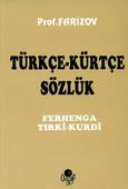 Türkçe Kürtçe Sözlük