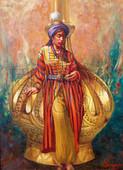 Educa Puzzle Nakşıdil Cariye ve Gülabdan   KAMİL ASLANGER   14722   500 LÜK