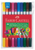 Faber-Castell Çift Uçlu Keçeli Kalem,10 Renk  - 5068151110