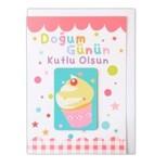Big KMK 06 Doğum Günün Kutlu Olsun Magnetli Kart
