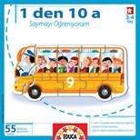 Educa Puzzle Çocuk 1den 10a saymayı öğreniyorum 14749