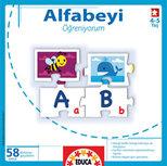Educa Puzzle Çocuk Alfabeyi Öğreniyorum 14750