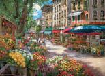 Anatolian-Paris Çiçek Pazarı / Parıs Flower Market 1000 Parça 3106
