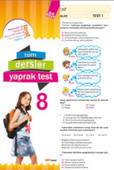 8. Sınıf Tüm Dersler Yaprak Test