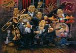 Art Puzzle Louis Armstrong ve Orkestrası  4607 1500 Parça