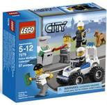 Lego City Police Minifigure Collection 7279