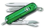 Victorinox Signature Çakı Şeffaf Yeşil VT 0.6225.T4
