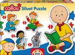 Educa Puzzle Caillou Siluet Puzzle 15034
