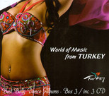 World Of Music From Turkey Box-3 3 CD BOX SET
