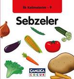 Sebzeler - İlk Kelimelerim 9