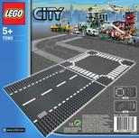 Lego  City Straight & Crossroad