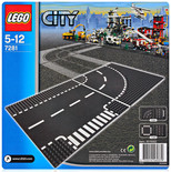 Lego Small Car T-Junction & Curve