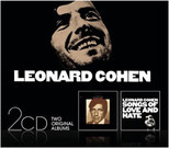 Songs Of Leonard Cohen & Songs Of Love And Hate CD(2)
