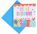 Big KK 10 İyi ki Doğdun Minik Kart