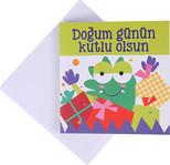 Big KK 11 Doğum Günün Kutlu Olsun Minik Kart