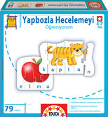 Educa Puzzle Yapbozla Hecelemeyi Öğreniyorum