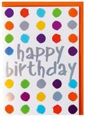 Big BK 11 Happy Birthday Noktalar  Zarf ve Kart