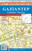 Gaziantep Caddeler Haritası