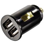 """Hama USB Araç Şarj Cihazı 2x""""Piccolino"""" , 2000mA HM.14118"""