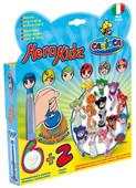Carioca Herokidz Şekilli Jumbo Süper Yıkanabilir Keçeli Kalemler (6 Kalem + 2 Damga) - 43214