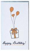 Big Muk 03 Happy Birthday Balon  Minik Uzun Kart