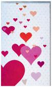 Big Muk 10 Pembe Kalp Minik Uzun Kart