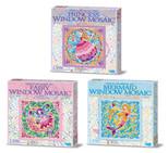4M Window Mosaic Fairy,Ballerina,Princess/ Pencere Mozaik Sanatı - 4565