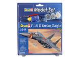 Revell M.Set F-15E Eagle 1:144 Ölçek 3. Seviye Maket - 63996