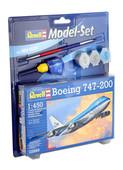Revell M.Set Boeing 747-200 1:450 Ölçek 3. Seviye Maket - 63999